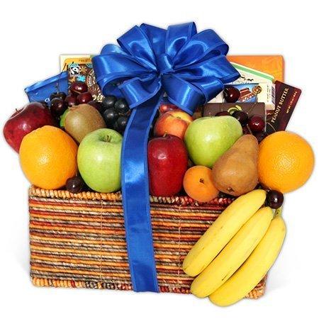 Fruit & Gourmet Snack Basket - Same Day Delivery - Classic
