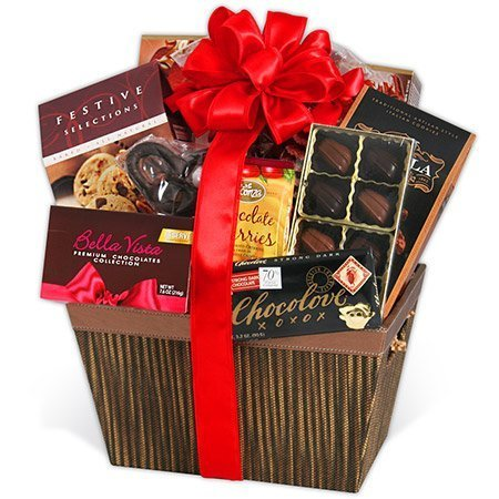 Gourmet Chocolate Basket Same Day Delivery - Signature