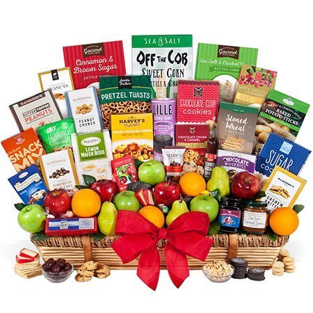 'Signature Series' Fruit and Gourmet Gift Basket