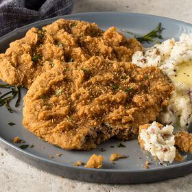 8 (4.5 oz.) Chicken Fried Steaks