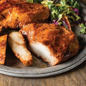 4 (3 oz.) BBQ Rubbed Chicken Breasts