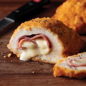 2 (7.75 oz.) Chicken Cordon Bleu