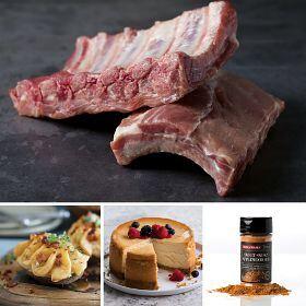 Baby Back Pork Ribs Feast