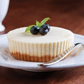 8 (4 oz.) Individual New York Cheesecakes