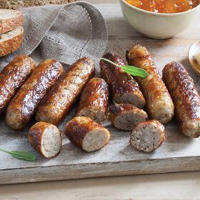 1 (34 oz. pkg.) Breakfast Pork Sausages