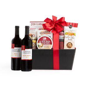 Century Cellars Duet Red Wine Gift Basket
