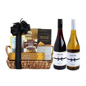Delectable Duet Wine Gift Basket