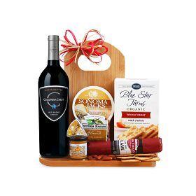 Gourmet Wine & Cheese Board Gift Set