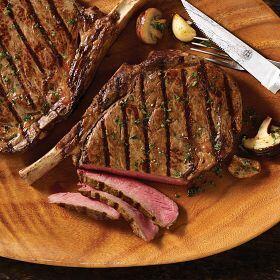 4 (24 oz.) Private Reserve Bone-in Ribeye Cowboy Steaks