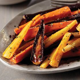1 (20 oz. pkg.) Glazed Rainbow Carrots