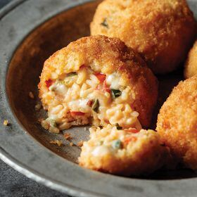 8 (2.81 oz.) Pepper Jack Risotto Cakes