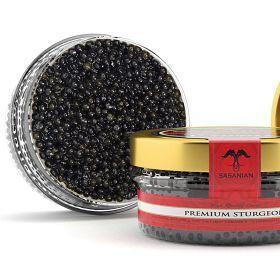 2 (1 oz. pkgs.) American Sturgeon Caviar