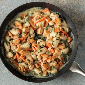 1 (24 oz.) Skillet Meal: Parmesan Chicken and Dumplings