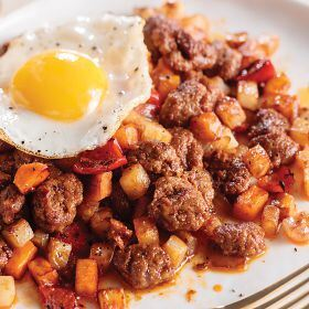 2 (15 oz.) Chorizo and Sweet Potato Hash Butcher's Breakfast