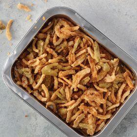 4 (2.5 oz.) Toppers: Crispy Onions & Jalape os